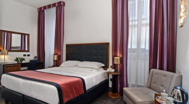 나보나 컬러스호텔 - 로마 - 침실