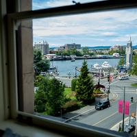 The Union Club of British Columbia Guestroom View