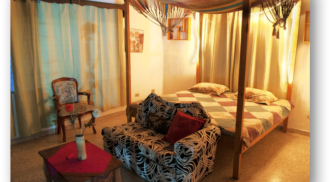 La Hamaca Hostel - San Pedro Sula - 침실