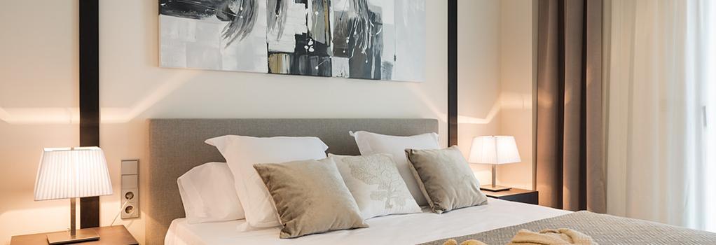 Cosmopolita Hotel-Boutique - Platja d'Aro - 침실