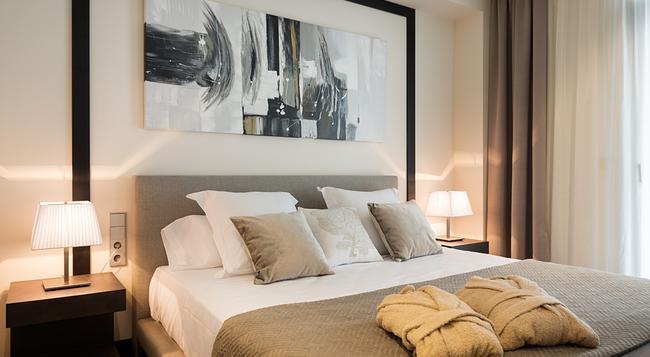 Cosmopolita Hotel Boutique & Spa - Platja d'Aro - 침실