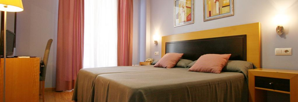 Hotel San Marcos - 바다호스 - 침실
