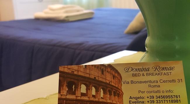도미나 로매 B&B - 로마 - 침실