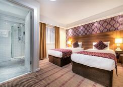 시티 콘티넨탈 런던 켄싱턴 호텔 - 런던 - 침실