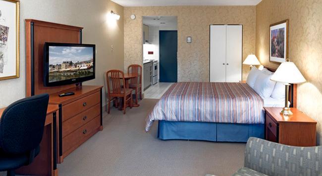 라빠르망 오텔 - 몬트리올 - 침실