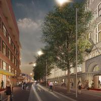 W 암스테르담 W Amsterdam Exterior - Spuistraat Second Building - Rendering
