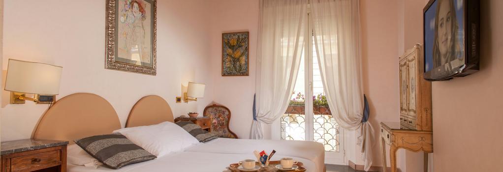 호텔 샌트'앤젤로 - 로마 - 침실