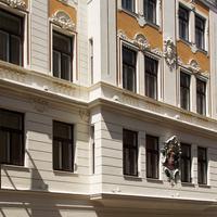 호텔 지프서 Das Hotel Zipser in Wien bei Tag