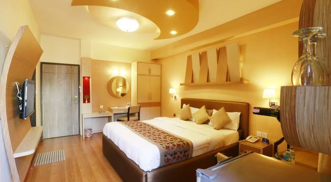호텔 문라이트 - 카트만두 - 침실