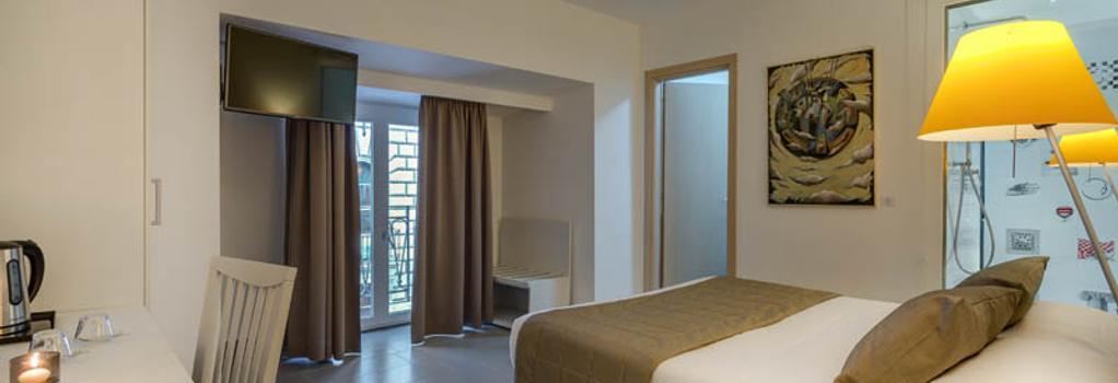 트레비 팰리스 호텔 - 로마 - 침실