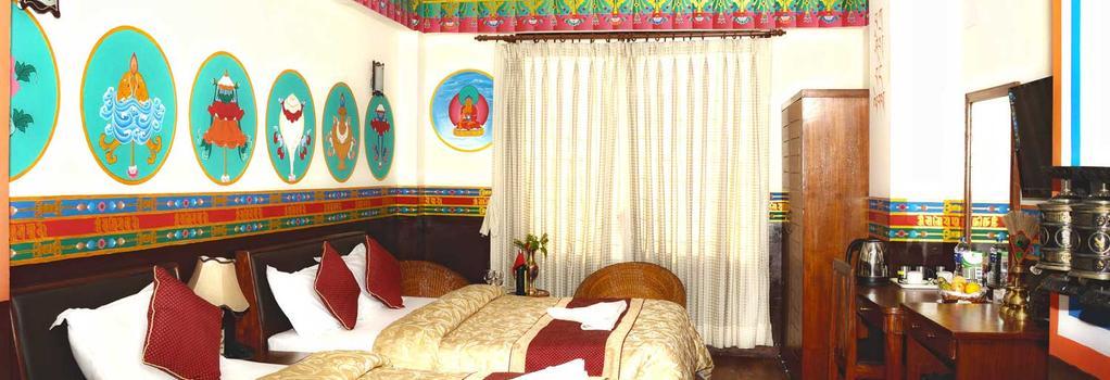 카트만두 에코 호텔 - 카트만두 - 침실