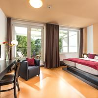 호텔 그렌즈폴 Double or twin bed room with balcony