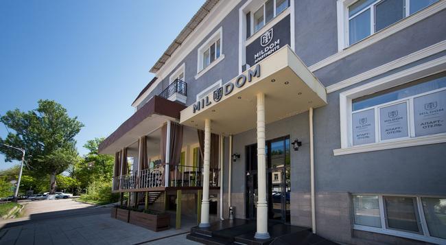 밀돔 호텔 - 알마티 - 건물