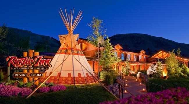 Rustic Inn Creekside Resort And Spa at Jackson Hole - 잭슨 - 건물