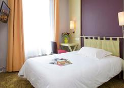 호텔 몽트파르나세 알레시아 - 파리 - 침실