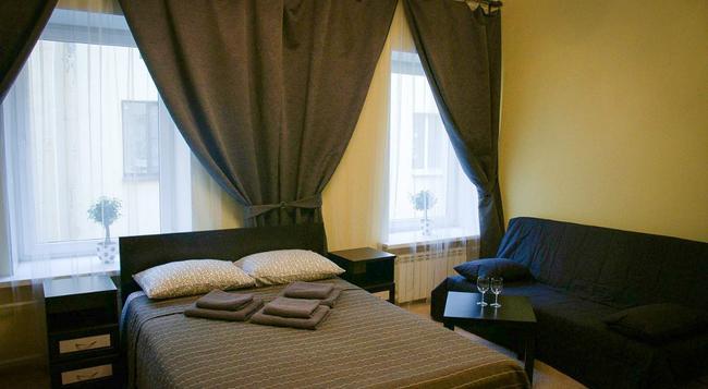 Mini Hotel Belaya Noch - 상트페테르부르크 - 침실