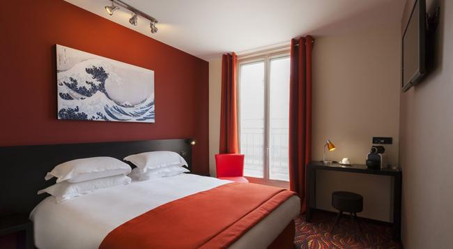 헬루시 호텔 - 파리 - 침실