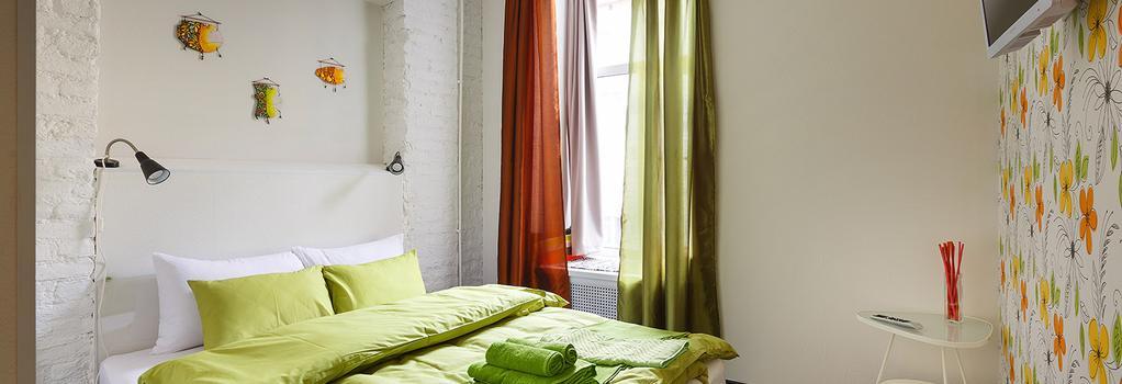 스테이션 호텔 K43 - 상트페테르부르크 - 침실
