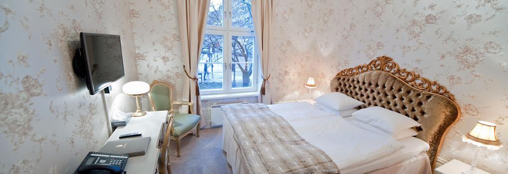 Browallshof Hotell och Matsal - 스톡홀름 - 침실
