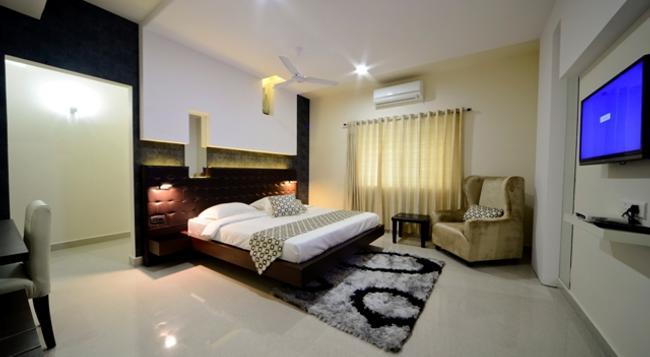라 비스타 호텔 - 하이데라바드 - 침실
