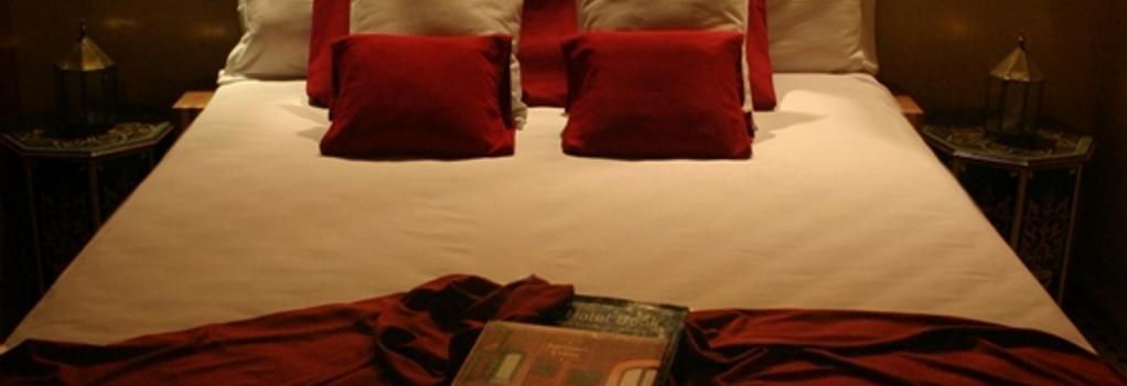 Riad Chbanate - 에사우이라 - 침실