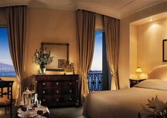 유로스타 엑셀시어 호텔 - 나폴리 - 침실