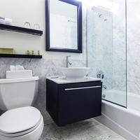 유로스타 호텔 월 스트리트 Bathroom