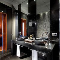 유로스타 마드리드 타워 호텔 Bathroom
