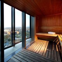 유로스타 마드리드 타워 호텔 Sauna
