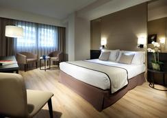 호텔 유로스타 레이 돈 하이메 - 발렌시아 - 침실