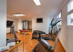 유로스타 메디터랜네아 프라자 호텔 - 알리칸테 - 체육관