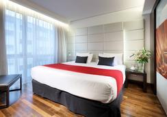 유로스타 그랜드 센트럴 호텔 - 뮌헨 - 침실