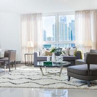 Habitat Residence Condo Hotel Living Room