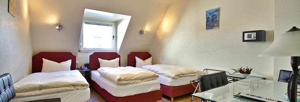 호텔 뮐러 쾰른 - 쾰른 - 침실