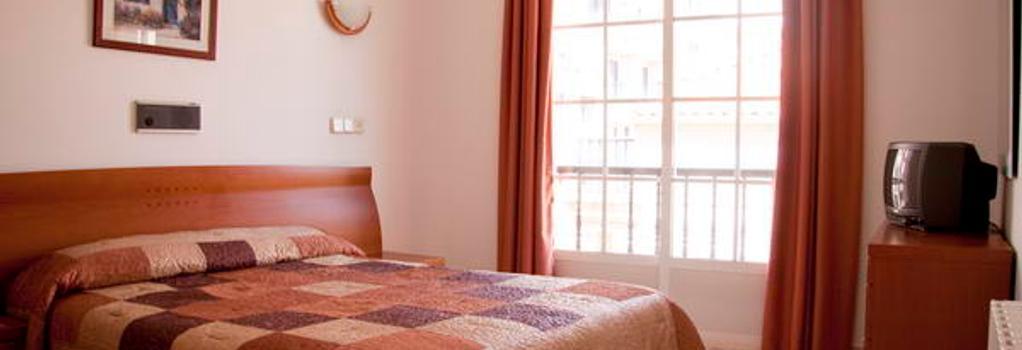 Hotel Florida Mar - 산신소 - 침실