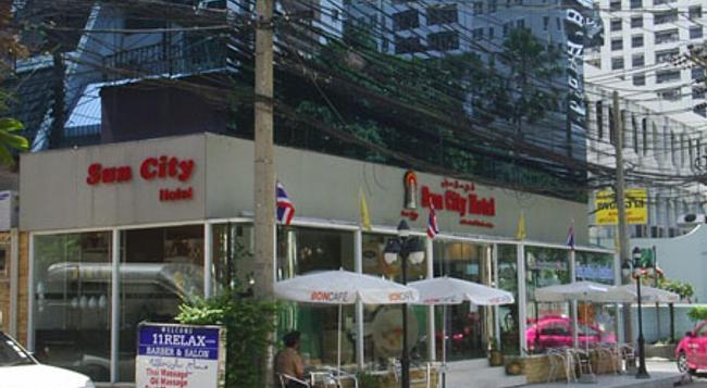 선 시티 호텔 - 방콕 - 건물