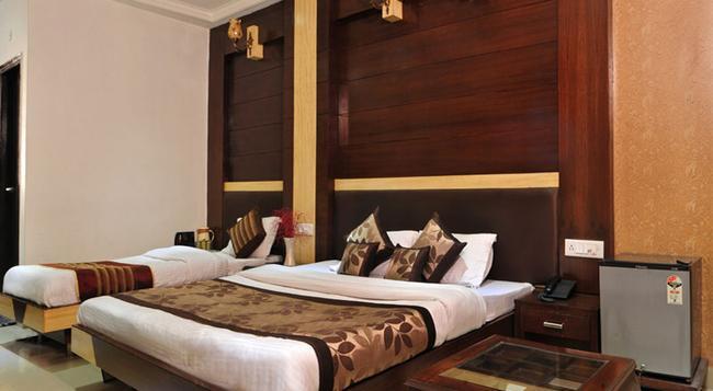 호텔 델리 하트 - 뉴델리 - 침실