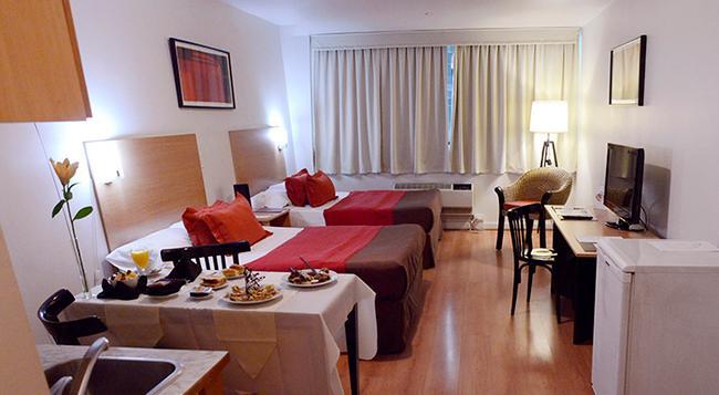 아파트 호텔 앤 스파 콩그레소 - 부에노스아이레스 - 침실