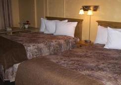 Hotel Les Mouettes - Sept-Îles - 침실