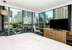 Atton Brickell Miami Hotel - 마이애미 - 침실