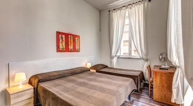 호텔 로디 로마 - 로마 - 침실