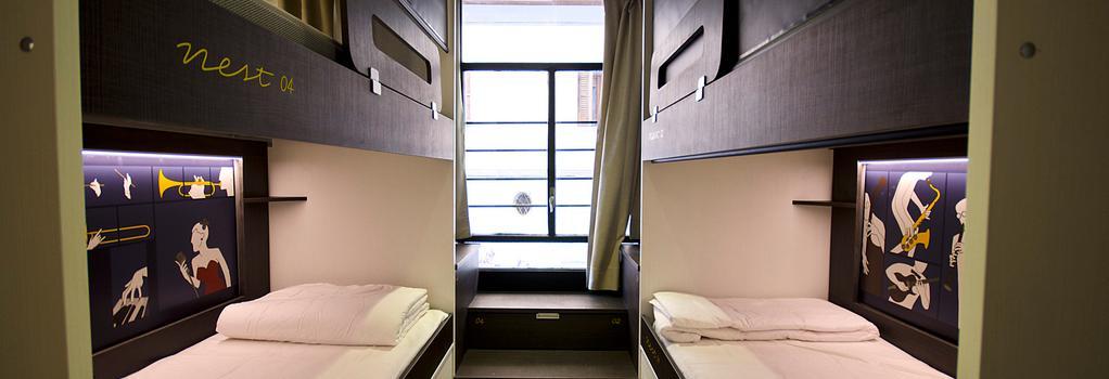 프리 호스텔 바르셀로나 - 바르셀로나 - 침실