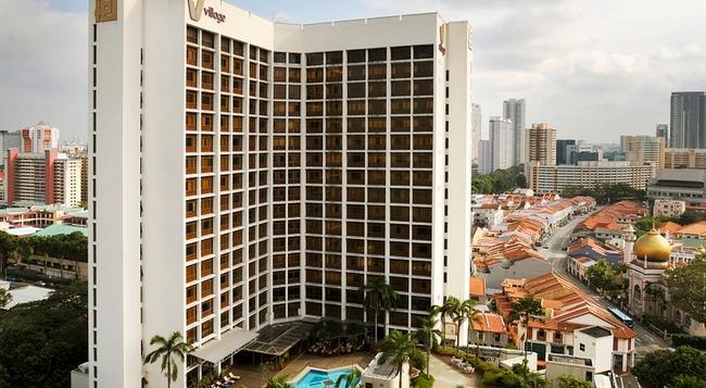 빌리지 호텔 부기스 바이 파 이스트 호스피탈리티 - 싱가포르 - 건물