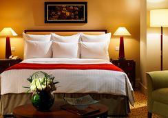 런던 메리어트 호텔 웨스트 인디아 키 - 런던 - 침실