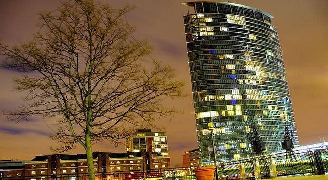 런던 메리어트 호텔 웨스트 인디아 키 - 런던 - 건물