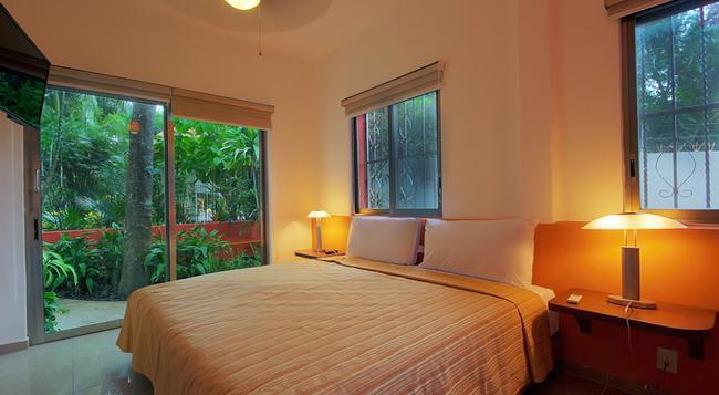 Riviera Maya Suites - 플라야 델 카르멘 - 침실