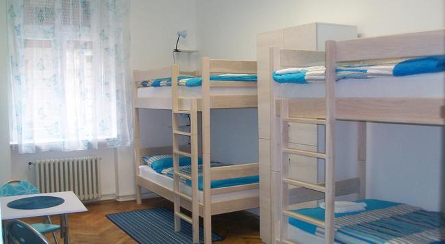 호스텔 카멜레온 - 자그레브 - 침실