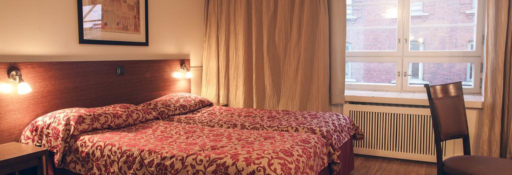 안나 호텔 - 헬싱키 - 침실