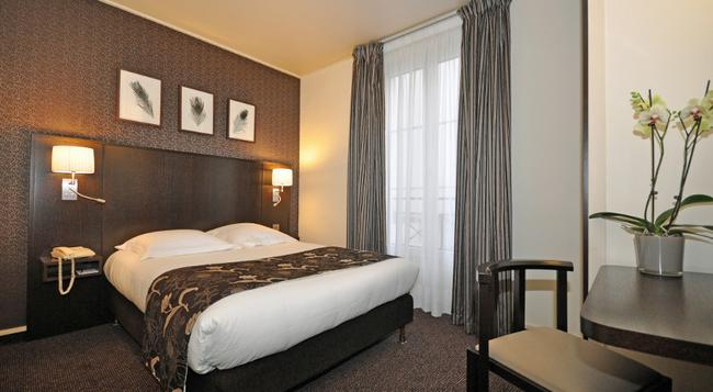 호텔 에펠 생 샤를 - 파리 - 침실