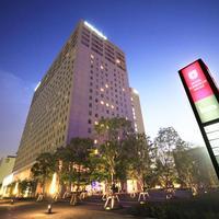 썬루트 아리아케 호텔 Hotel Front - Evening/Night